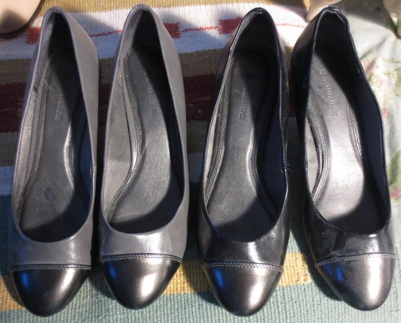 Same shoe, different color
