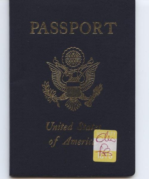 My old passport has been renewed.