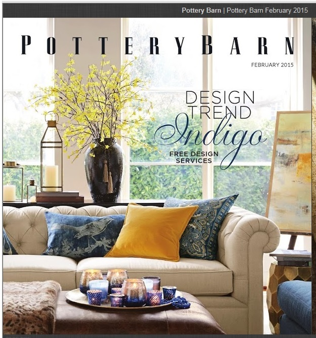 Pottery Barn catalog is one of my favorites.