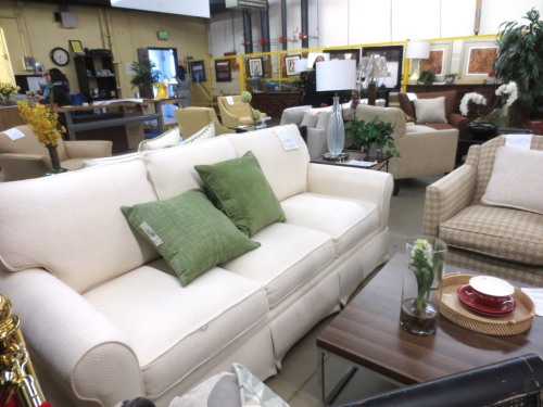 Lots of furniture to choose from -- throw pillows are $10.