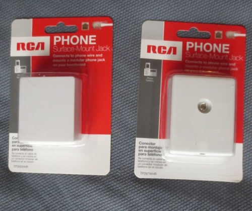Simple phone jacks cost between $3 and $4.
