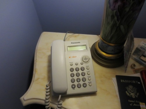 I haven't used the landline for over a year.