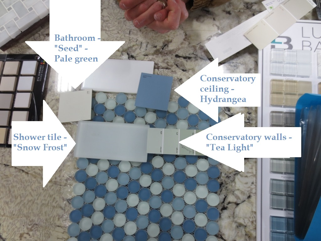 Conservatory tile order lets face the music this is the plan for the conservatory bathroom dailygadgetfo Image collections