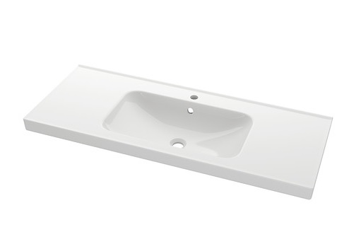 The Ikea Odensvik is 39-3/8 inches wide and 19-1/4 inches