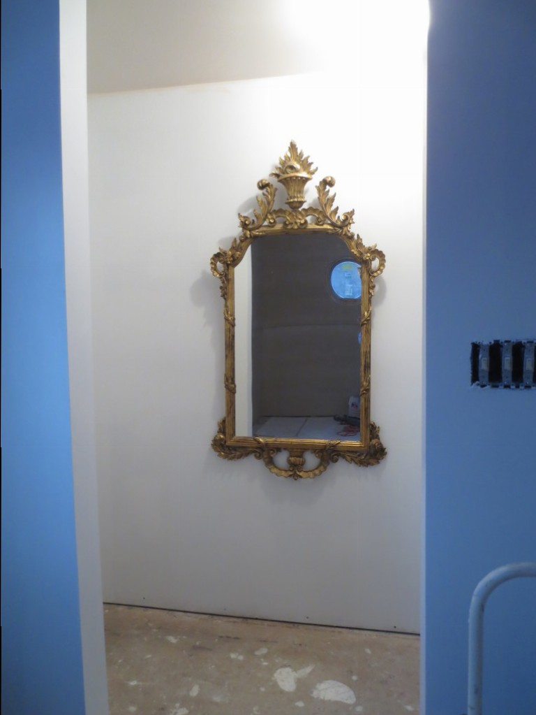 I tried this ornate mirror once before.