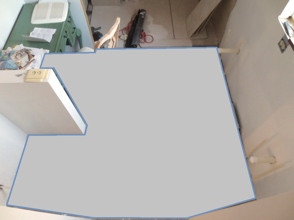 Subfloor for the Bathroom Tile – Let\'s Face the Music