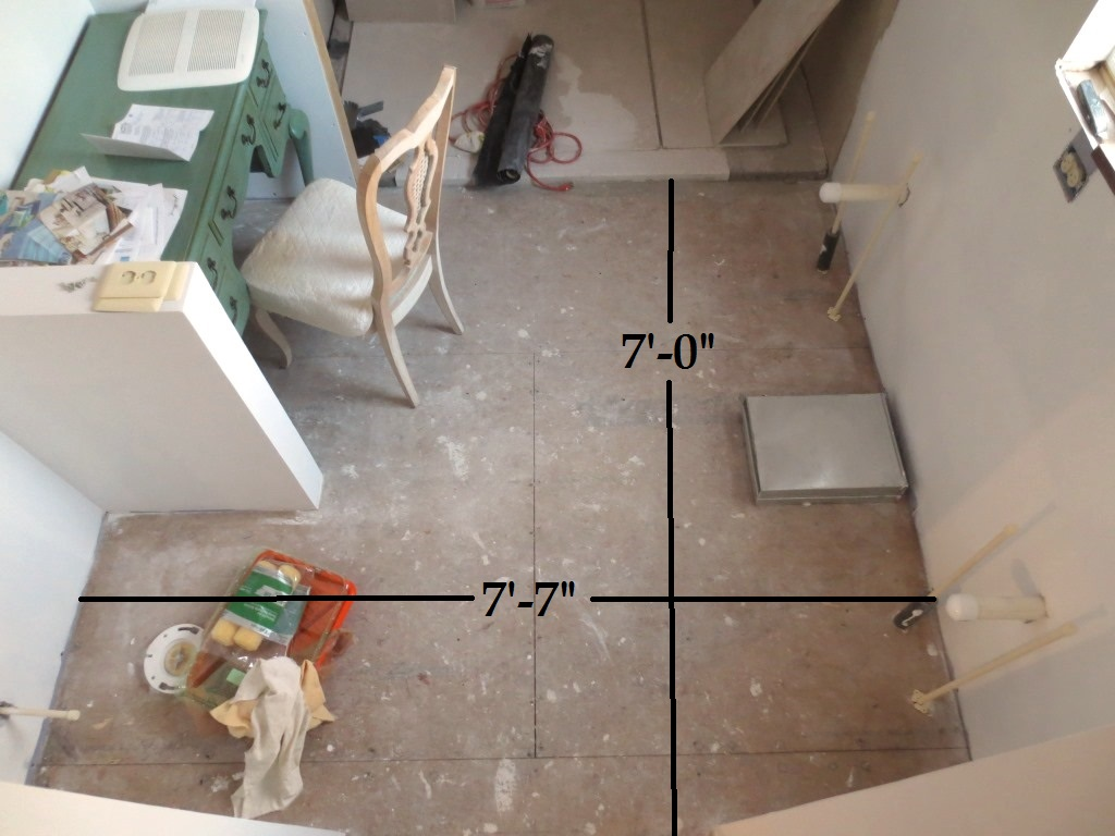 Subfloor For The Bathroom Tile Let S Face The Music