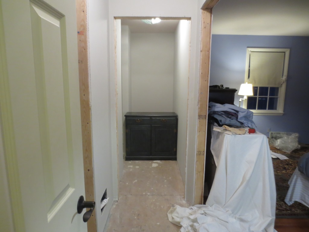 my next project is at the end of the newly painted hall. Black Bedroom Furniture Sets. Home Design Ideas