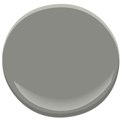 Secret by Benjamin Moore for the built-ins.