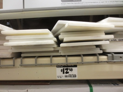 These thinner pieces might have a different use like a window sill. More research needed.