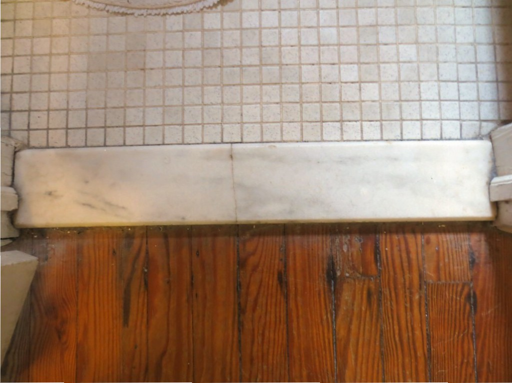 Tiling Bathroom Door Threshold thresholds – let's face the music