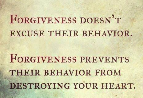Forgiveness is our power to change the world.