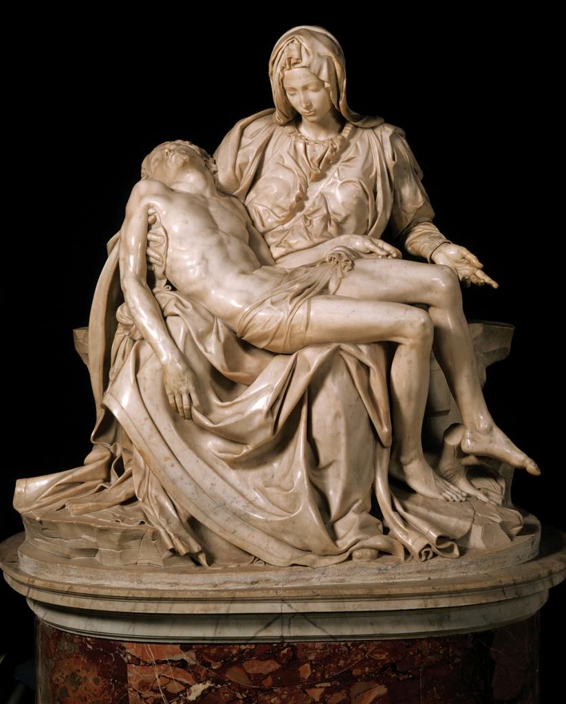 The Pieta in Saint Peter's Basilica in Vatican City.
