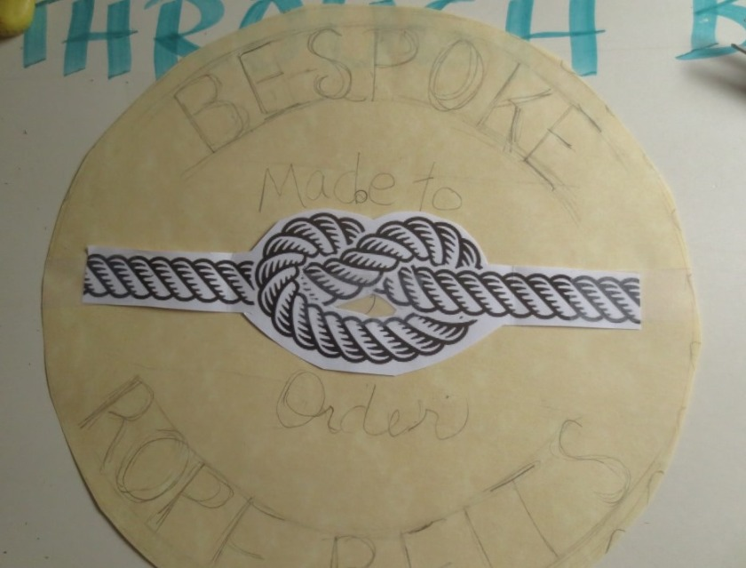 "My design for ""Bespoke Rope Belts"""