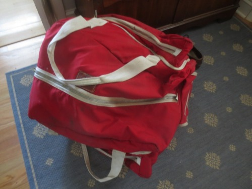 Our saddle bag has been store in the attic which is hot in summer and cold in winter.