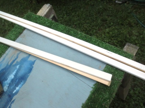 Screen door bead is a small and neat trim.