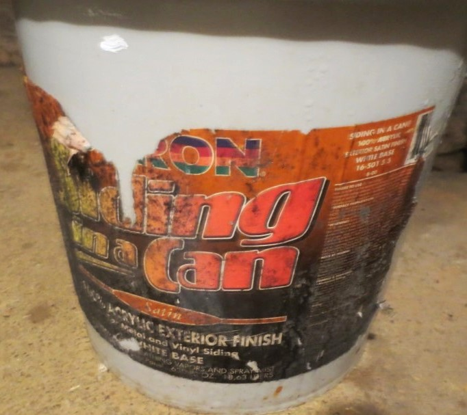 """Siding in a Can"" by Duron has been a good product for us but is no longer available."