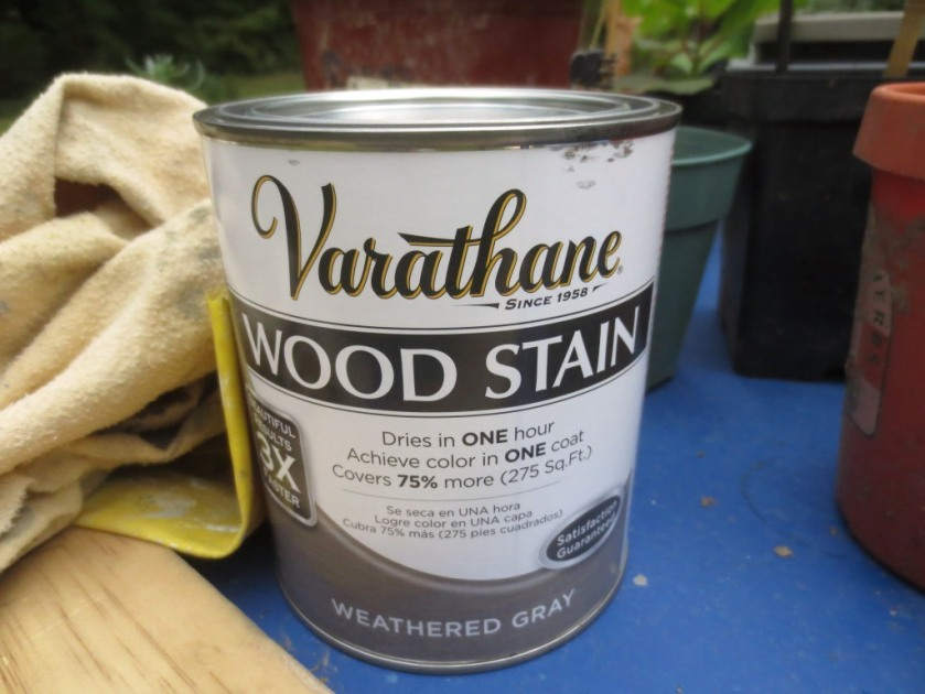 The color of stain can be adjusted but it's more finicky than paint.