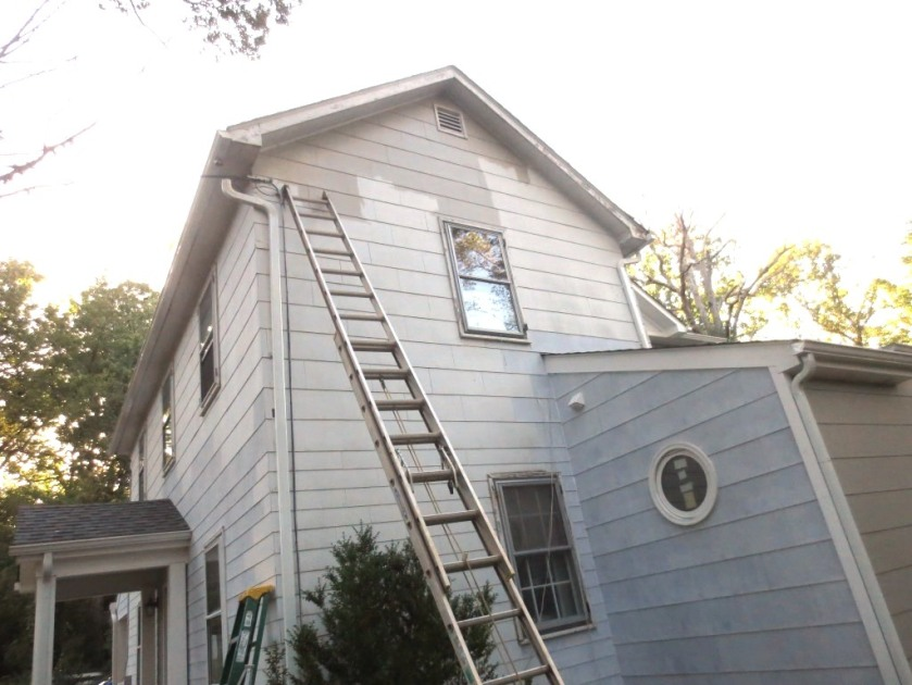 We bought an extension ladder years ago for projects like cleaning the gutters and painting the house.