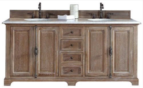 "72"" Providence Driftwood Double vanity is on its way to us."