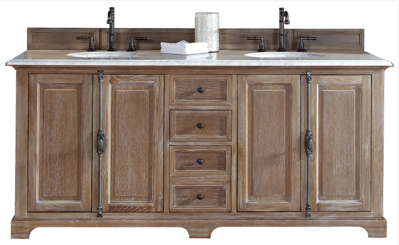 This is the vanity I'm considering for the master bathroom since I can't find a practical substitute like the one that got away.