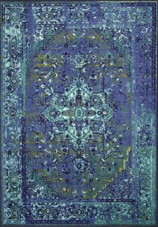 I'm hoping something in this rug coordinates with the other colors in the house.