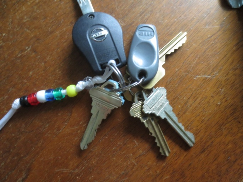 I don't carry many keys anymore but they mostly look alike.