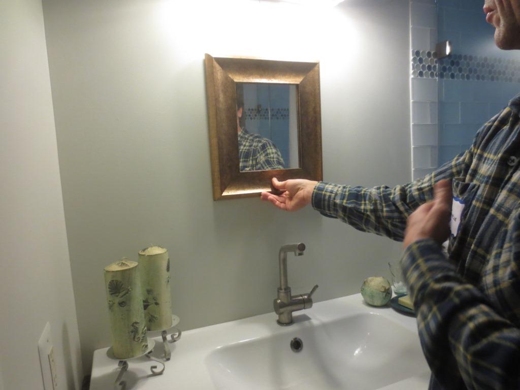 you specials mirror in the bathroom unique, creative style