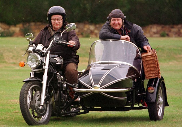 I think I'd do much better in a sidecar.