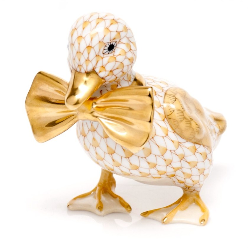 This Herend duck will be my inspiration.