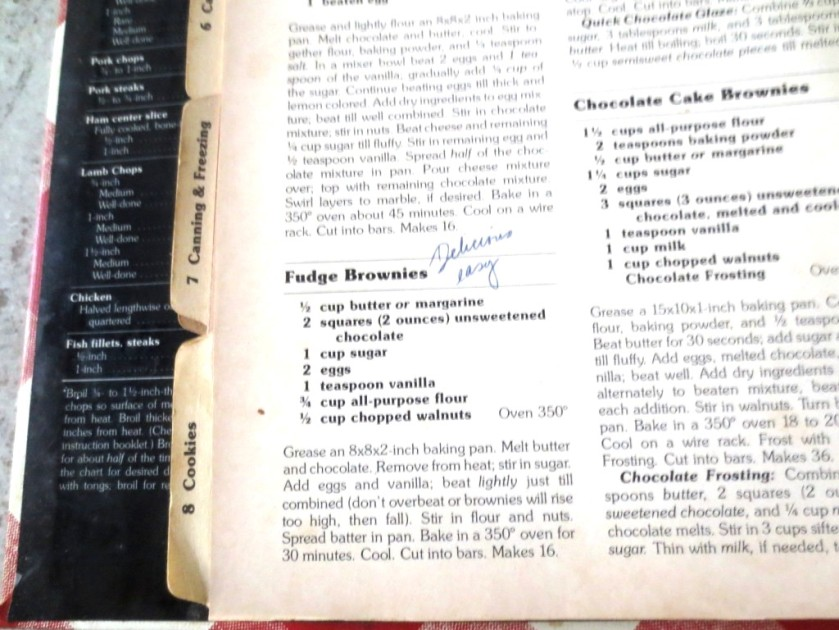 I always mark in my cookbooks whether or not a recipe is good -- worth making again -- after the first try.