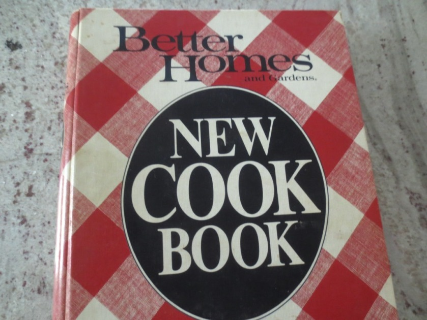 My Better Homes and Gardens Cookbook.