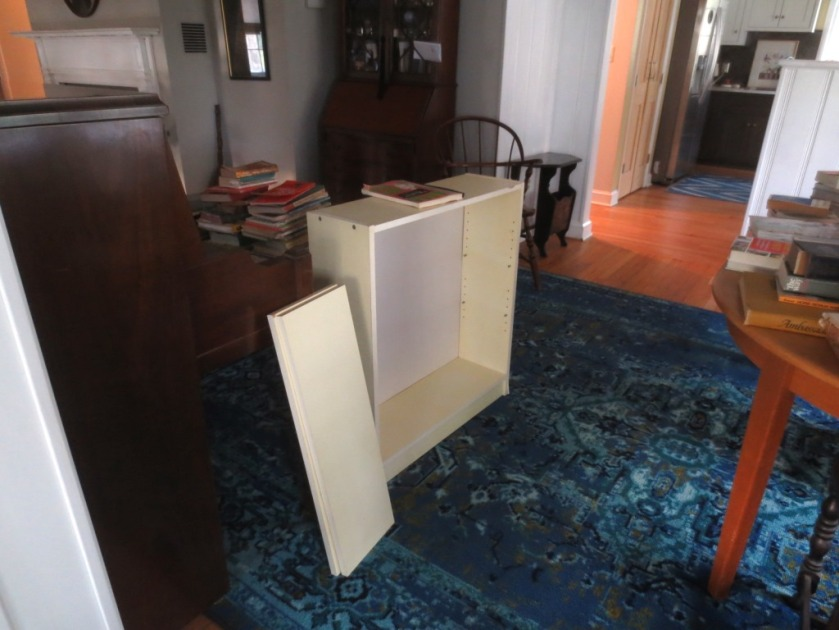 I have a pair of these old Ikea bookshelves.
