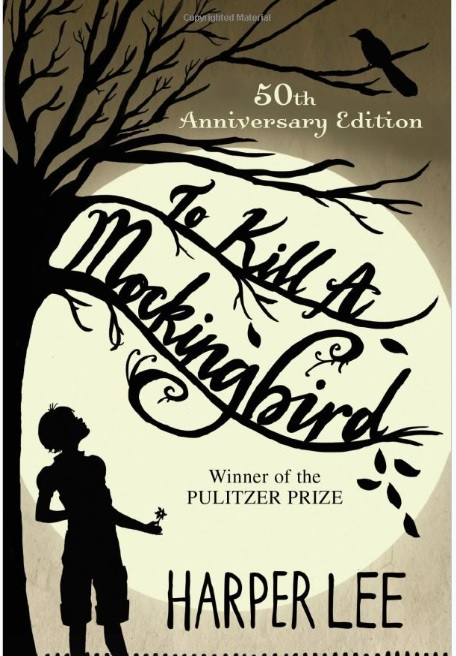 To Kill a Mockingbird by Harper Lee -- the version we'll be reading.