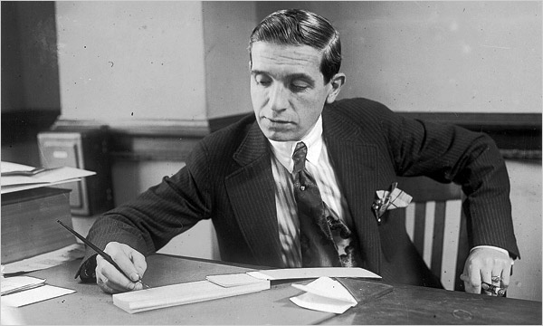 "Charles Ponzi looked respectable even though an illegal ""scheme"" is named for him."