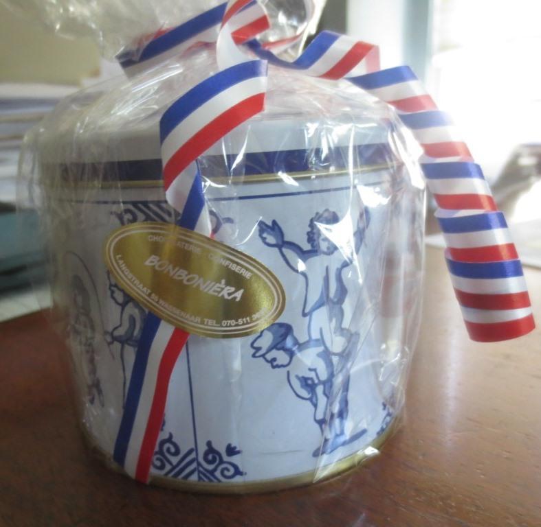 A cute Dutch tin.