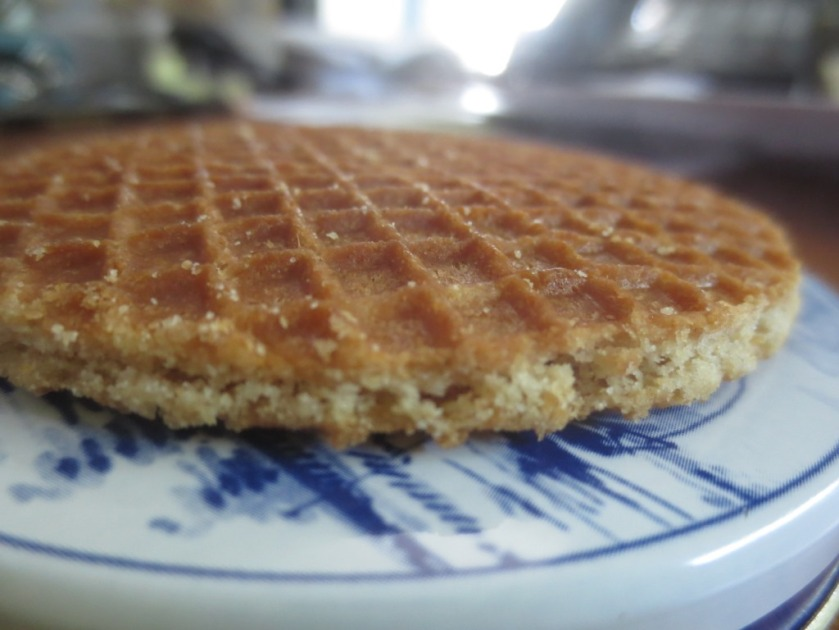 The stroopwafel are very delicate.