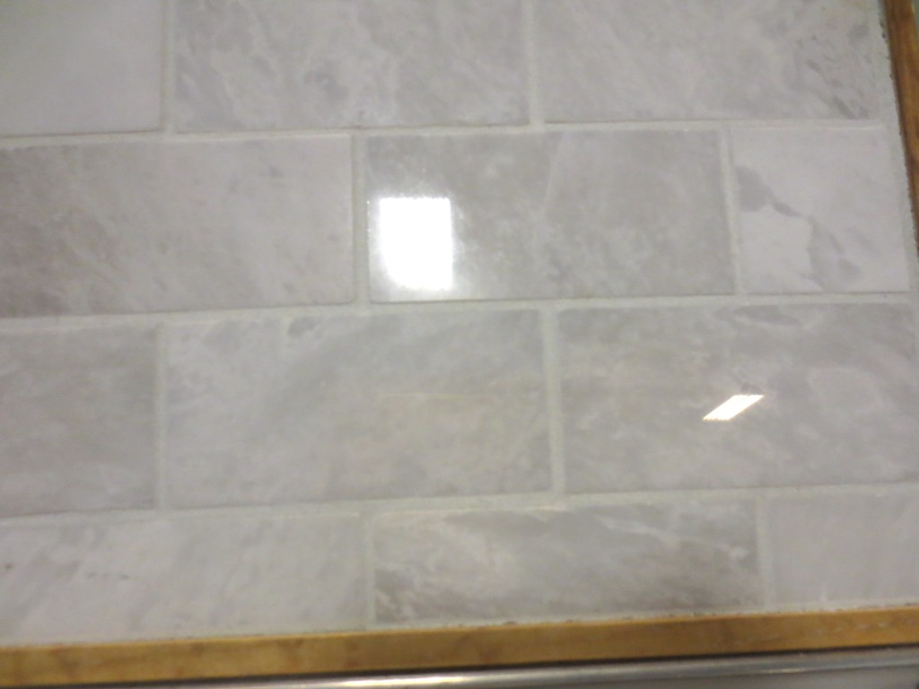 Marble Backsplash For The Master Lets Face The Music