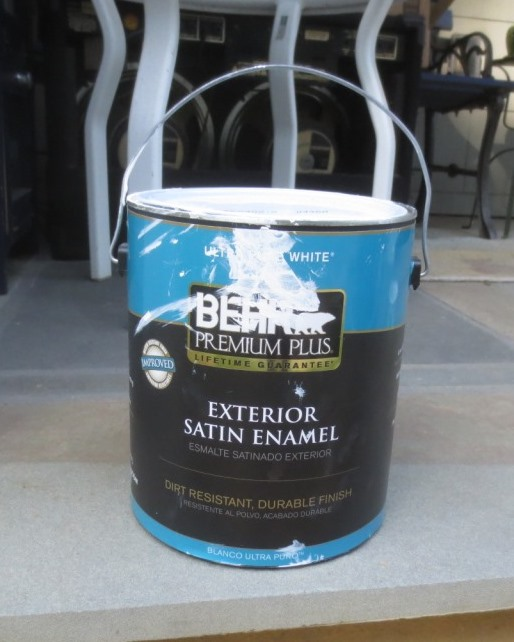 Exterior trim paint.