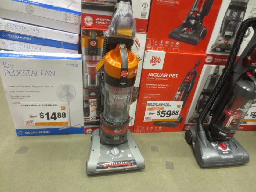 I was surprised to see a recommended vacuum on sale.