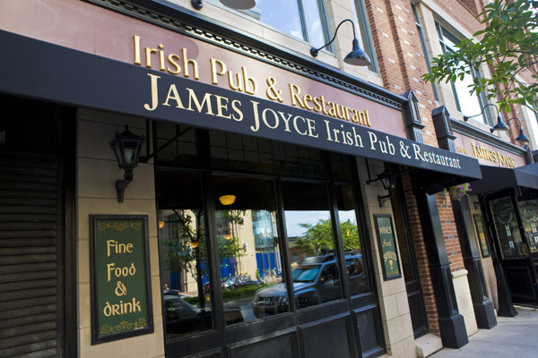If I were having a book club for the Dubliners perhaps we'd visit the James Joyce Pub in Baltimore as our final session.