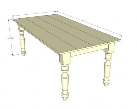 This looks very close to the table I'm planning to build.