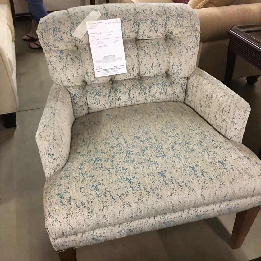 This is a comfortable chair for $250.