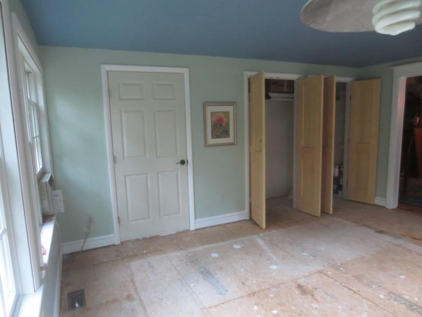 The conservatory bathroom door is 36-inches wide.