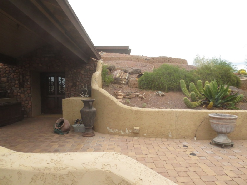 This Arizona house is built mostly underground in the desert.