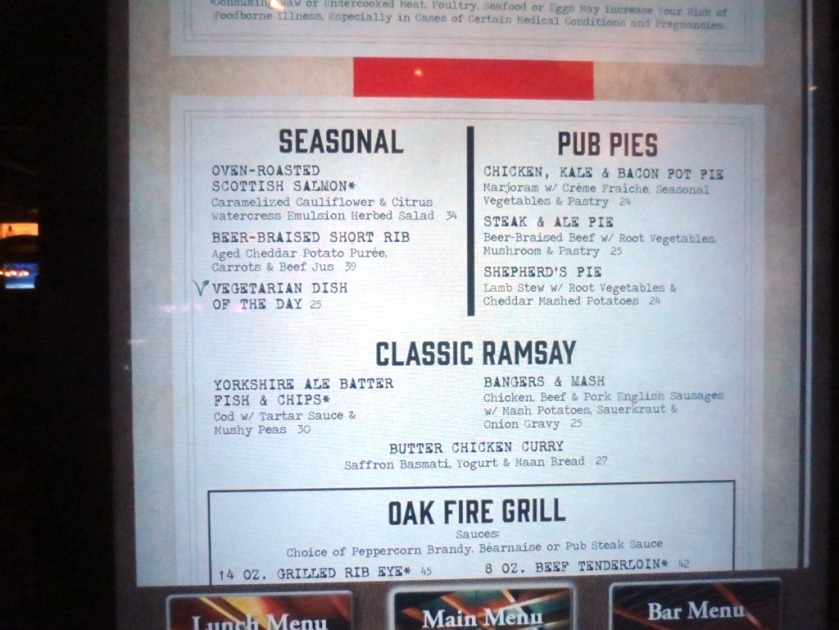"""I chose from """"Pub Pies"""" and Charlie picked from """"Classic Ramsey""""."""