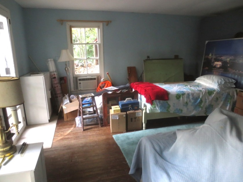 I still have a pile of things to remove from the Cottage including the twin bed.