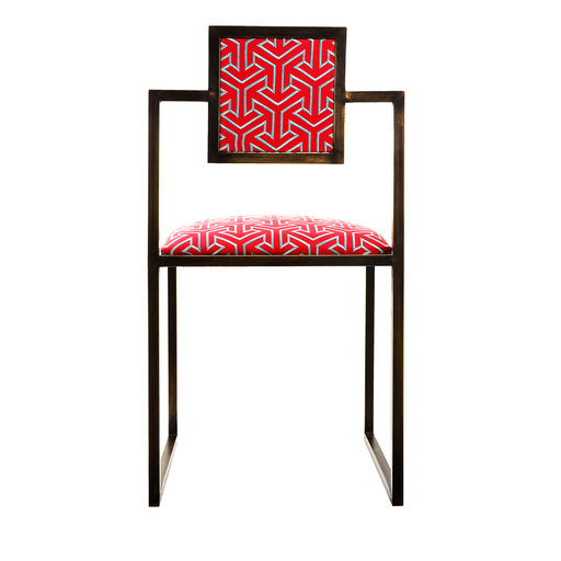 Why 006 Square Brass Chair for $2,650.
