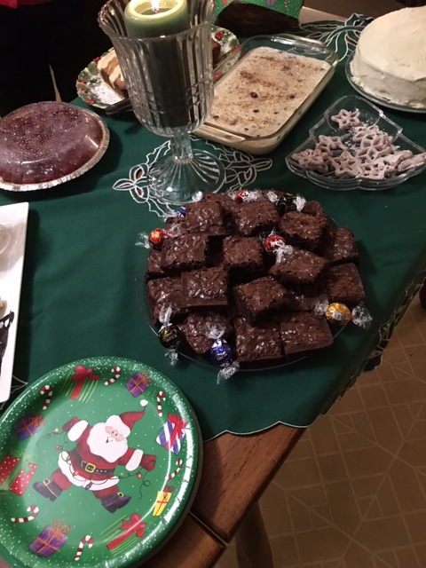 The dessert table had a treat for everyone.