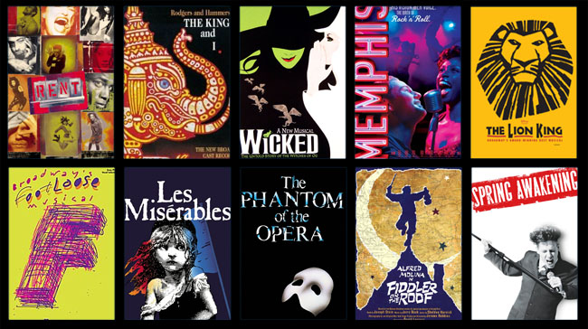 The Lion King and Wicked are definitely on our list.